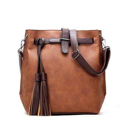 Famous Designer Bags 2015 Fashion Crossbody Bags For Women Leather Handbags Tassel Shoulder Messenger Bags Bolso Mujer Sac Femme