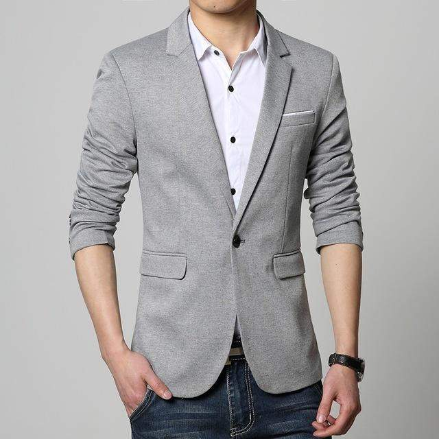 2016 Korean Mens Luxury Business Casual Suit Blazers Jackets Professional Formal Wedding Dress Beautiful Design Plus Size M-6XL - successmall