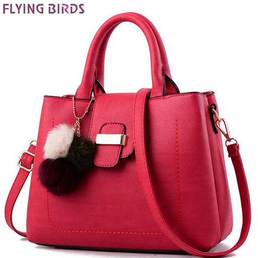 Flying birds women messenger bags ladies design women leather handbag brands high quality purse bolsas 2017new LM4444fb