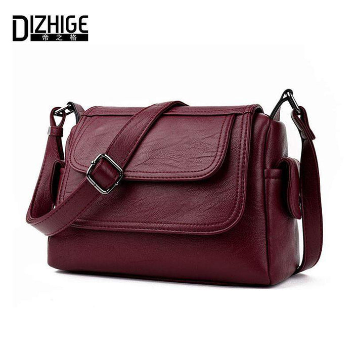 DIZHIGE Brand 2017 Spring Summer Fashion Crossbody Bags Single Shoulder Bags Ladies PU Leather Bags Women Handbags New Sac Femme - successmall