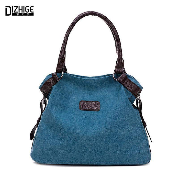 Vintage Canvas Bag Women Designer Handbags High Quality Tote Bag Ladies Shoulder Hand Bag Bolsos Sac A Main Femme De Marque 2016 - successmall