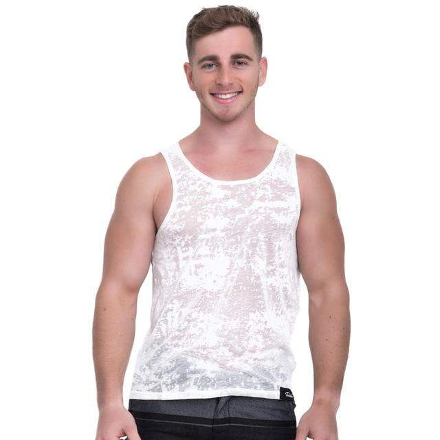 Taddlee Brand Men Tank Top Cotton Fashion 2017 New Apparel Soft Solid Color Stylish Tshirts Sleeveless Undershirts Casual Vest - successmall
