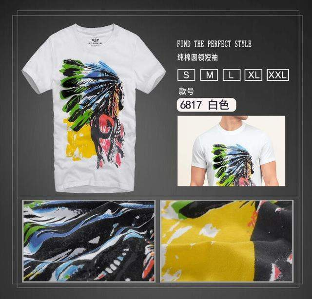 2017 Men Tee Summer Shirts Short Sleeve 100% Cotton Slim Men's T Shirt Casual Fashion T-shirt Famous Trending Brand Design Shirt