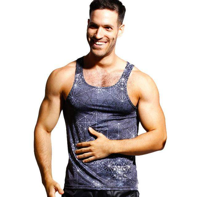 Taddlee Brand Men Tank Top Shirts Tees Sleeveless Undershirts Casual Tanks Vest Fitness Stringer Singlets 3D Printed New - successmall