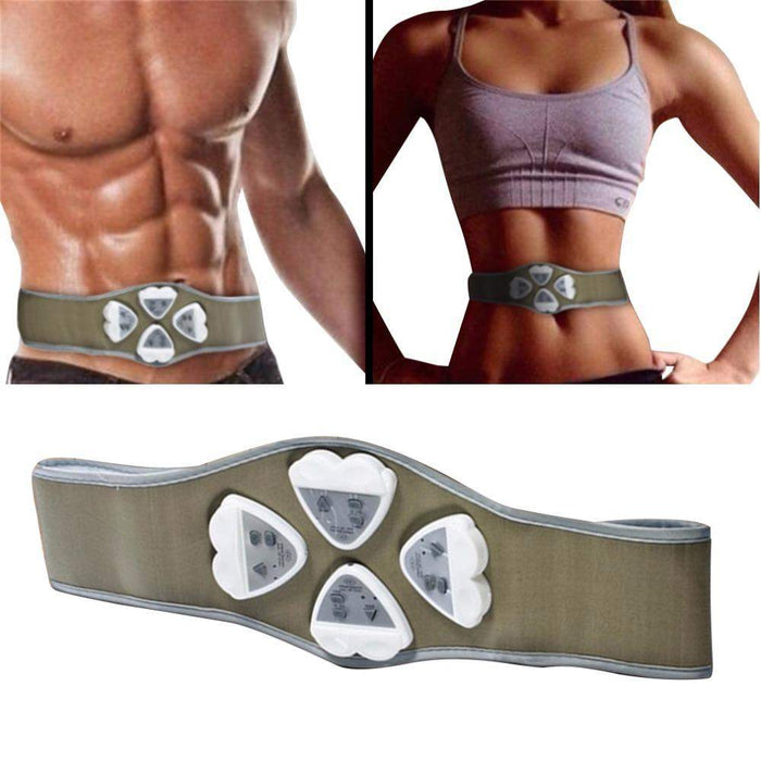 Electronic AB Gymnic Gymnastic Body Building ABS Belt Exercise Toning Toner Waist Muscle Body Massager Drop Shipping Wholesale - successmall