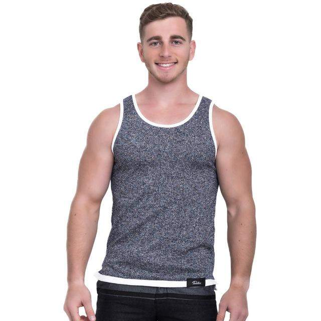 Taddlee Brand Men's Tank Top Fashion Tshirts Sleeveless Solid Color Soft Stylish Bodybuilding Casual Undershirts Slim Fit New - successmall