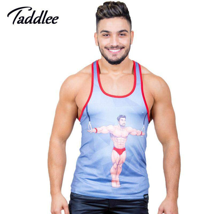 Taddlee Brand Men's Tank Top Shirts Sleevess Singlets Stringer Fitness Men Casual T Shirts Top Tanks Muslce Undershirts - successmall