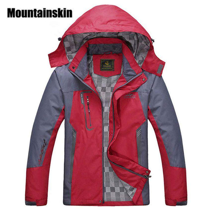 2017 New Men's Waterproof Windpoof Jackets Men Spring Autumn Jacket Coats Male Brand Clothing Plus Size L-5XL SA008 - successmall