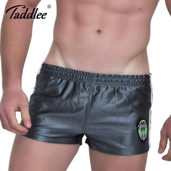 Taddlee Brand Sexy Men Beach Board Shorts Sweatpants Gasp Short Bottoms Swimwear Swimsuits Men's Boxer Trunks Jogger Fitness - successmall