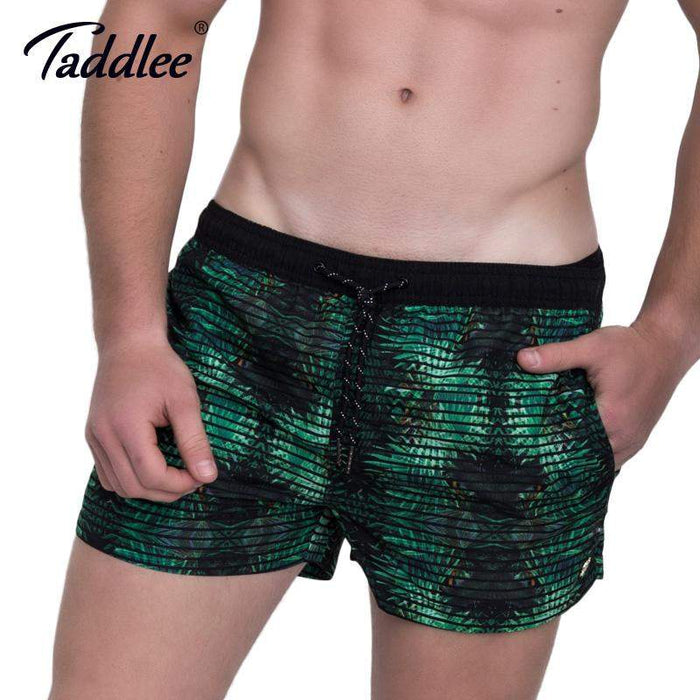 Taddlee Brand Men's Beach Board Shorts Plus Size Quick Drying Male Man Boardshorts Active Swimwear Swimsuits Men Acitve Jogger - successmall