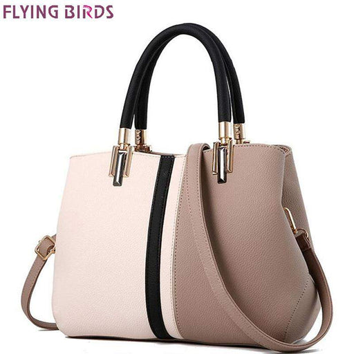 FLYING BIRDS brands Women Handbag Fashion leather handbags Shoulder Bag Small Casual Cross Body Bag Retro Totes new arrive