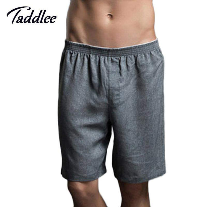 Taddlee Brand Men Underwear Boxer Shorts Sleepwear Sleeping Bottoms Casual Mens Sexy Boxer Trunks Underpants Gay Penis Pouch WJ - successmall