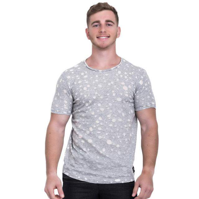 Taddlee Brand Men T-Shirts Cotton Fashion 2017 New O-neck Top Tees Shirts Casual Men's T Shirt Short Sleeve Stretch Soft Clothes - successmall