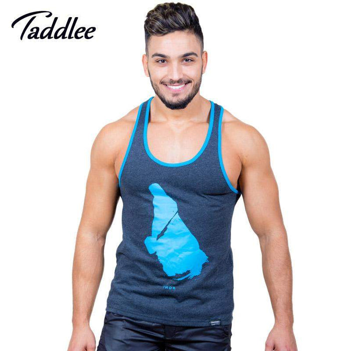 Taddlee Brand Mens Tank Top Tees Shirts Sleeveless Casual Undershirts Fitness Stringers Singlets Vest Bodybuilding Gasp Muscle - successmall
