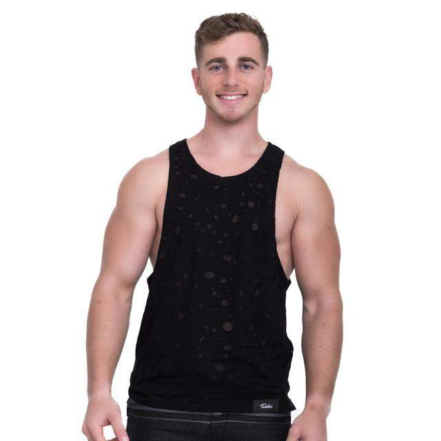 Taddlee Brand Men Tank Top Tee Shirts Sleeveless Fashion Solid Color Soft Tshirts Casual Slim Fit Undershirts Bodybuilding New - successmall