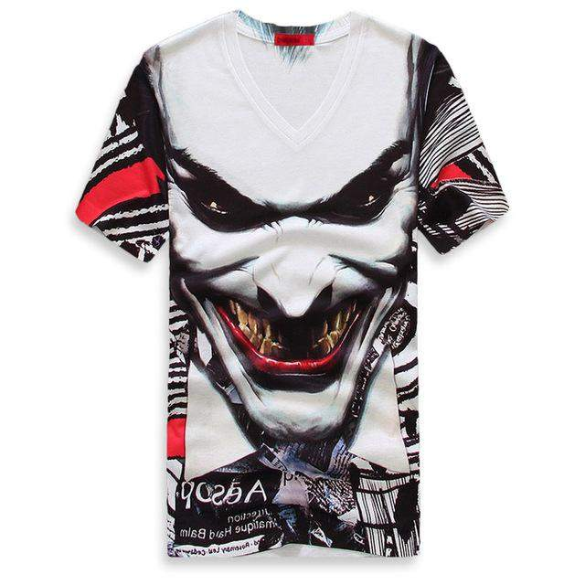 Taddlee Brand Mens Top Quality Short Sleeve O Neck Printed 3D T Shirt Men T-shirts Casual Top Tees Fashion Tees Men's Clothing - successmall