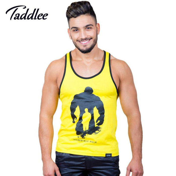 Taddlee Brand 2-pack Men Tank Top Singlets Muscle Fashion 2017 Top Tees Shirts Sleeveless Gasp Fitness Stringers Workout Casual - successmall