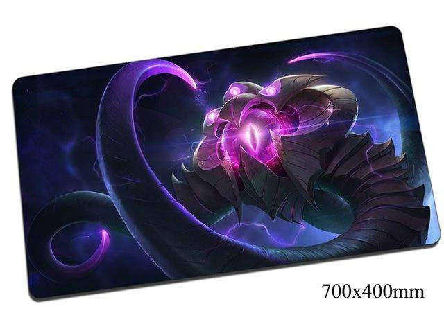 Vel'Koz mouse pad 70x40cm gaming mousepad gear lol gamer mouse mat pad Eye of the Void laptop computer desk mouse play mats - successmall