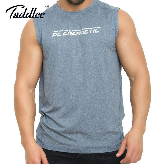 Taddlee Brand Men's Tank Top Stringer Gasp Tee Shirts Sleeveless Singlets Fitness Men Bodybuilding Muscle Shirt Hip Hop Clothes - successmall