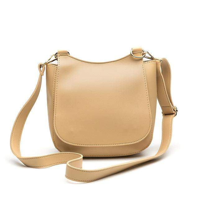 Herald Fashion New Casual Women Shoulder Bag Vintage Crossbody Bags Soft PU Leather Bag Simple Fresh Messenger Bag For Women