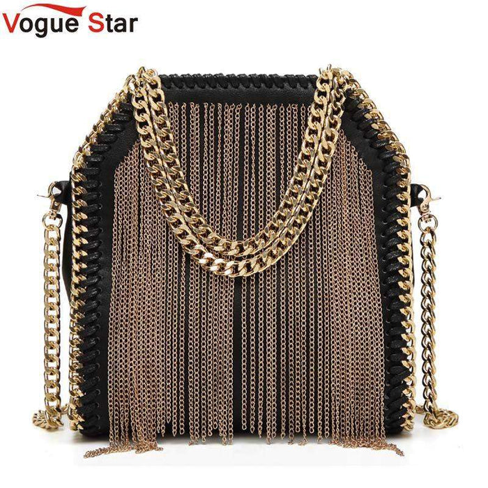 Vogue Star Fashion Women Messenger bag design Chain Detail Cross Body Bag Ladies Shoulder bag bolsa luxury evening bag LB155 - successmall
