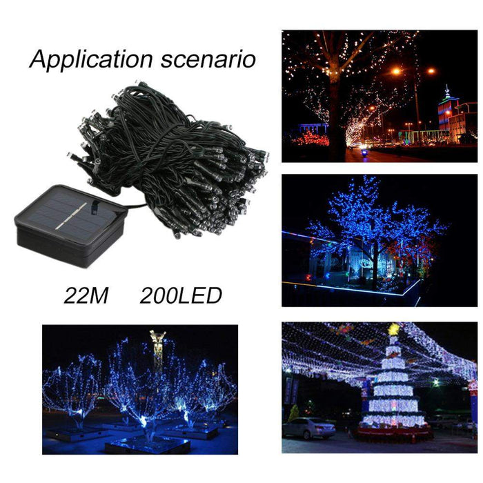 High Quality 22M 200LED IP68 Home Decorative Light Lamp Waterproof LED Holiday Strings Light For Party Wedding Christmas hot - successmall