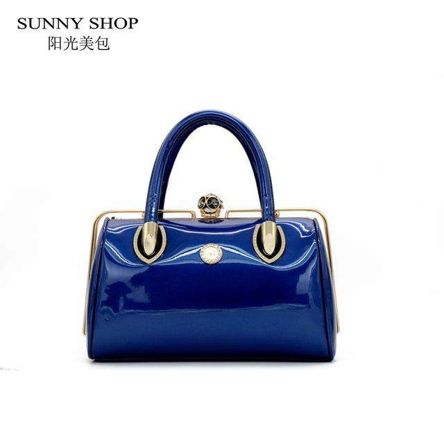 SUNNY SHOP Socialite Skull Diamonds Women Bag Crystal Evening Bag Bride Tote Elegant Women Wedding Handbags top handle bag - successmall