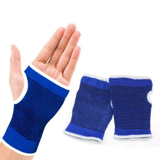 Support Wrist Gloves Hand Palm Gear Protector Elastic Brace Gym Sports Wristic Protector short Gloves Wrist Glove - successmall