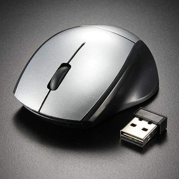 Malloom 2017 Mini 2.4GHz Gaming Mouse 2000 DPI Mice Optical Wireless Mouse Mice Cordless USB Receiver PC Computer for Laptop