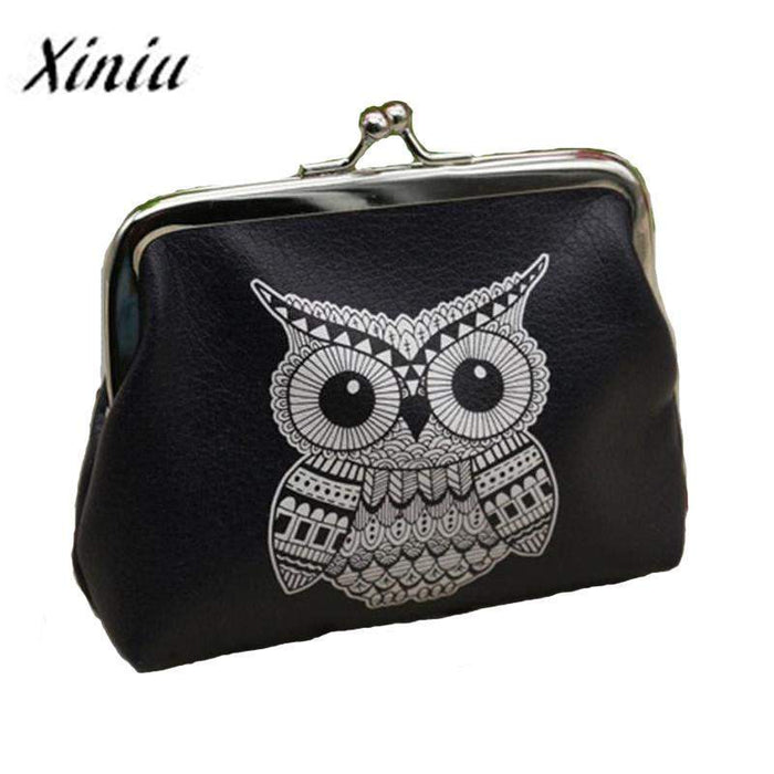 Xiniu Ladies wallets and purses anime wallets Elephant Pattern purse for Owl Coin Purse female money tray case for cards#0516SW - successmall