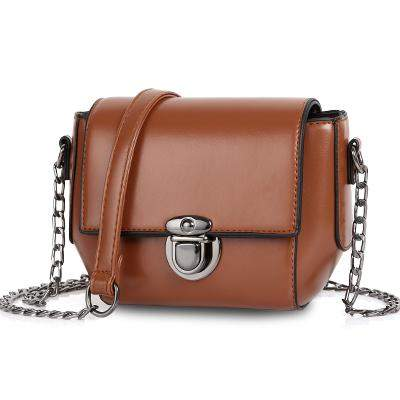 YBYT brand 2017 new vintage casual solid chains hasp mini flap hotsale ladies evening bag women shoulder messenger crossbody bag - successmall