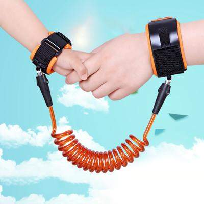 Adjustable Kids Safety Harness Child Wrist Leash Anti-lost Link Children Belt Walking Assistant Baby Walker Wristband 1.5M/2.5M