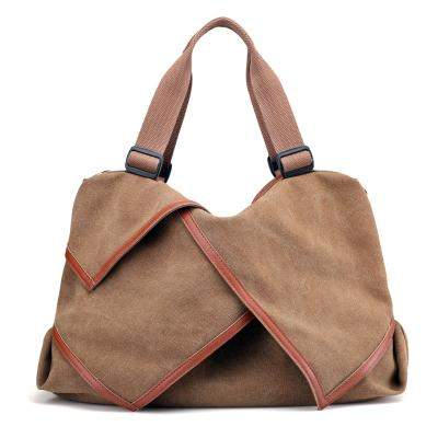 Women Canvas Bag Ladies Shoulder Bags Female Patchwork Handbags Women Original Brands Large Capacity Casual Tote Bags Sac A Main - successmall