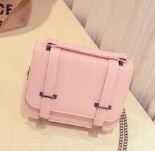 2016 new female bag quality pu leather women bag wild chain bag stereotypes double arrow portable shoulder Messenger handbags - successmall