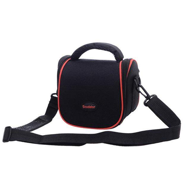 Ultralight Small Messenger Bags Hot Selling Nylon Women Mens Crossbody Bag For Phone Camera And DV Solid Color Black Handbag - successmall