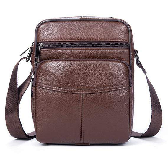 WESTAL NEW Casual Genuine Leather bags Men bag Male Shoulder Crossbody Bags Business Mens Messenger Bag Men Leather Bolsas 7602 - successmall
