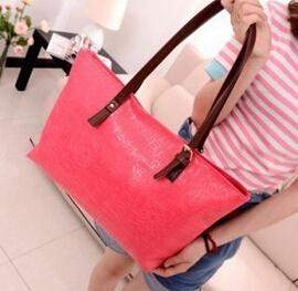 free shipping 2015 New bag women /Candy colors / Fashion / Leisure / wild / Oracle / handbag / vintage / big bag messenger bag - successmall