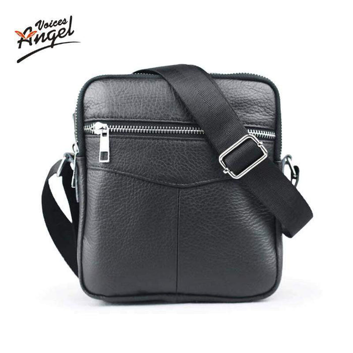 2016 New Casual Small Men's Bag Genuine Leather Brand Men Messenger Bags Business Men Mini Shoulder Bag Crossbody Bags For Men - successmall