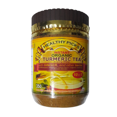 <p>Rebate Points = .27<br/></p>Healthy Picks Instant Organic Tumeric Tea 350 grams Plastic Bottle