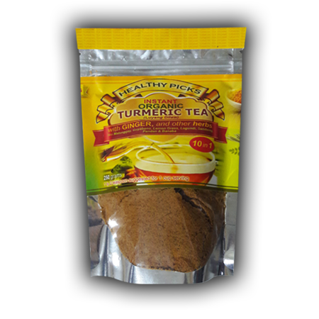 <p>Rebate Points = .17<br/></p>Healthy Picks Instant Organic Turmeric Tea 250 grams stand pouch - successmall