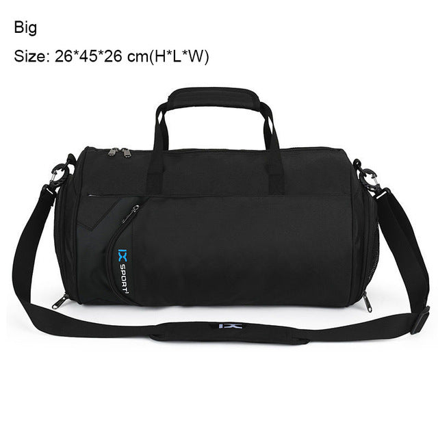 Men Gym Bags For Training Bag Waterproof Nylon Tas Basketball Fitness Travel Pouch Outdoor Sports Bag With Shoes Storage XA103WA - successmall