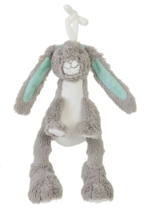 Grey & Light Mint Rabbit - Little Lumps