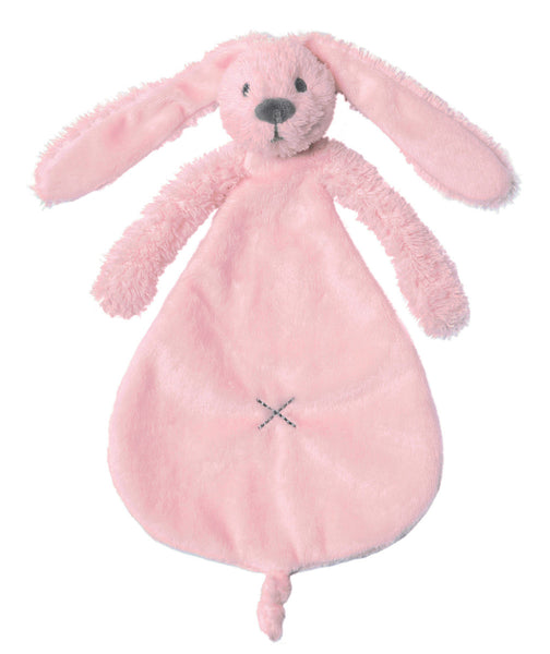 TOY - Richie Rabbit blankie - ivory/pink/deep blue - Little Lumps Baby Clothing Online