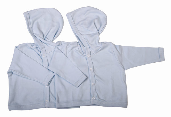 Button-Up Baby Hoodies Made From 100% Cotton - Little Lumps