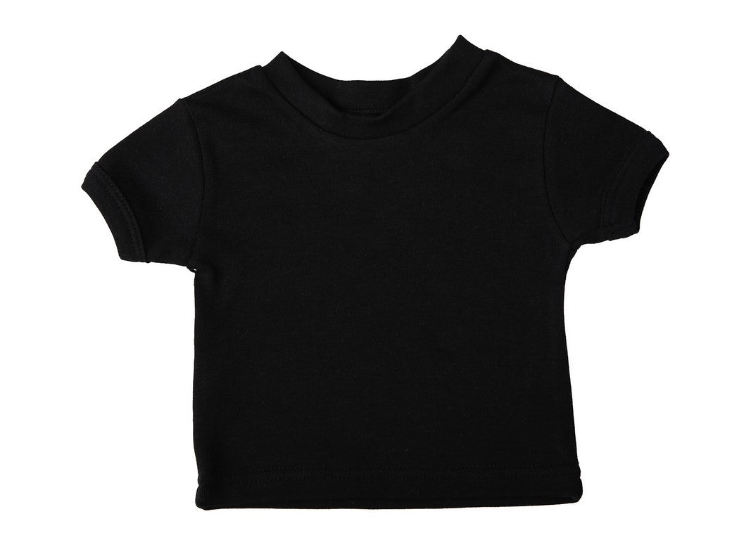 6-Pack Blank Short-Sleeved Crew-Neck Baby T-Shirts 100% Cotton - Little Lumps