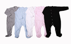 Baby Blanks - Babygro (2 pack or 6 pack) - Little Lumps Baby Clothing Online