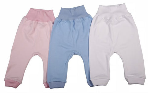 100% Cotton Blank Baby Sweatpants In A 6-Pack - Little Lumps