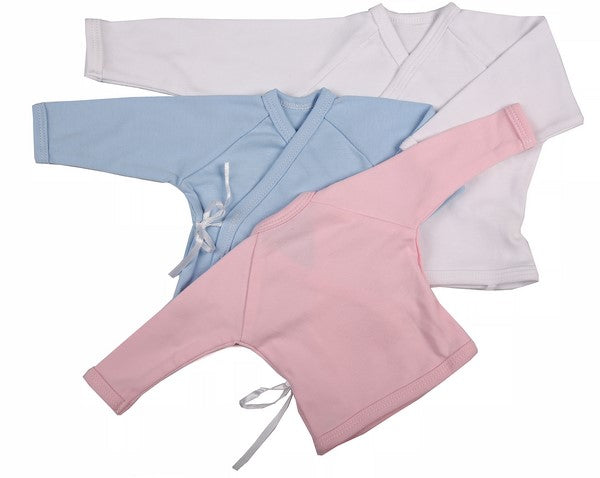 Baby Blanks - Crossover Top ( 6 Pack) - Little Lumps Baby Clothing Online