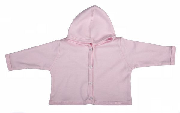 Blank Button-Up Baby Hooded Jacket (6-Pack) - Little Lumps Baby Clothing Online