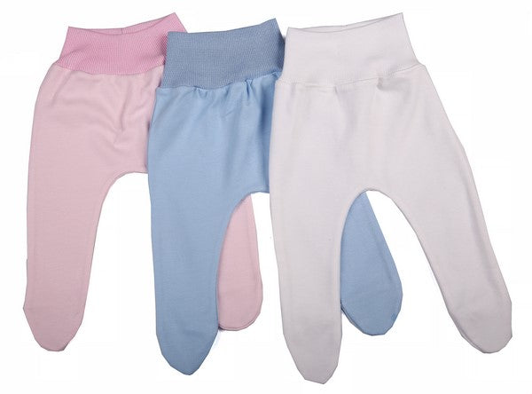 High Quality Cotton Baby Leggings (6-Pack) - Little Lumps